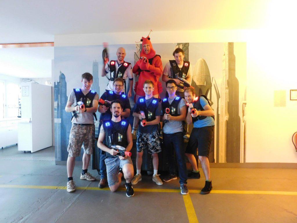 LaserLoft St. Pauli - Lasertag JGA Hamburg Team