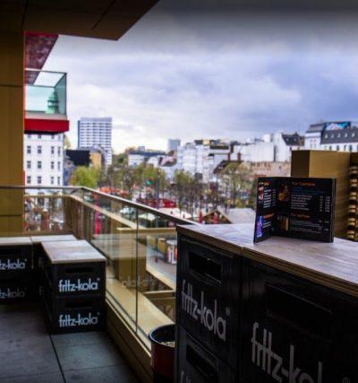 LaserLoft St. Pauli - Blick vom Balkon